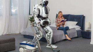 掃除をしてくれるロボットの写真